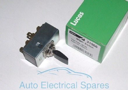 Lucas 31966 79SA Wiper Toggle Switch C15456